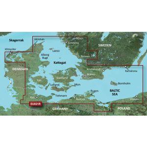 Garmin Bluechart g3 (EU021R) Danmark öst - Sverige sydöst