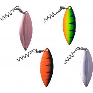 Svartzonker Spinner Flipper Willow 4-pack