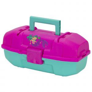 Plano Mermaid draglåda för barn [34 x 18 x 15 cm] rosa/mint