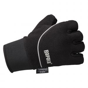 Rapala Stretch kortfingerhandskar svart