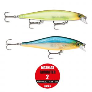 Rapala Mathias Favoriter 2 grumligt vatten 2-pack