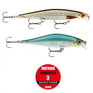 Rapala Mathias Favoriter 3 soligt väder 2-pack