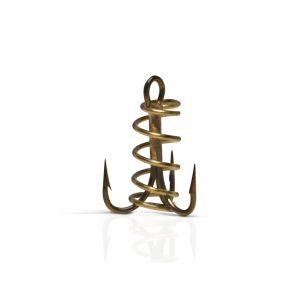 VMC O'shaughnessy (9617DB) trekrok med spiral för deg brons 10, 5-pack