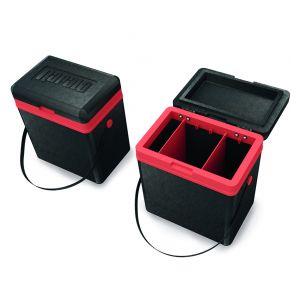Rapala Ice Box [41 x 28 x 45 cm] svart/röd