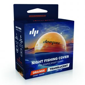 Deeper Night Fishing Cover orange