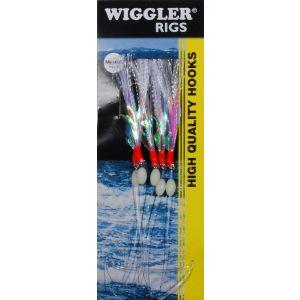 Wiggler Flash A Boo med 3/0 krok 5-pack