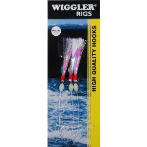 Wiggler Flash A Boo med 3/0 krok 3-pack