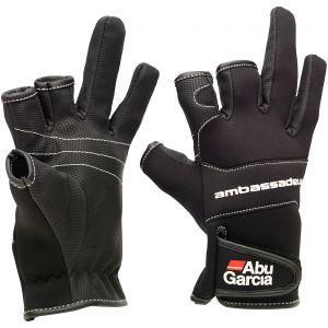 Abu Garcia Stretch neopren-handskar svart