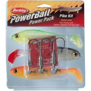 Berkley PowerBait Pro Pack Pike 3+3-pack