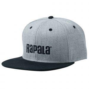Rapala Flat Brim keps grå/svart one-size