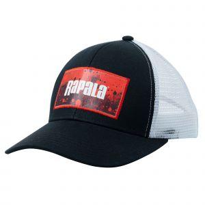 Rapala Splash Trucker keps svart/röd one-size