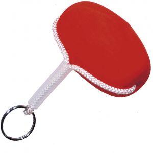 Wiggler nyckelring med frigolitflöte röd