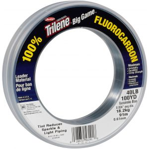 Berkley Big Game 100% Fluorocarbon tafsmaterial clear