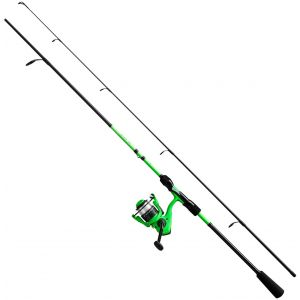 13 Fishing Fate 4000/Fate 24T graphite haspelset 9' H 20-80 g