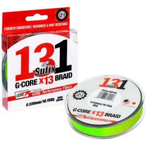 Sufix 131 G-Core x13 Braid flätlina neon chartreuse