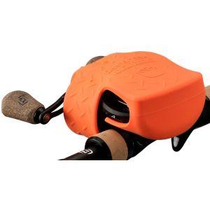 13 Fishing Skull Cap skydd för lågprofilrullar orange