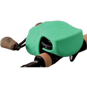 13 Fishing Skull Cap skydd för lågprofilrullar grön
