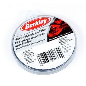 Berkley McMahon Steelon nylonbestruken stålvajer svart 9.14 m