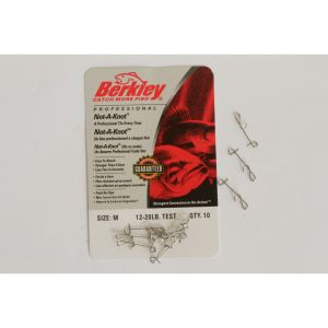 Berkley McMahon Not-A-Knot silver 10-pack