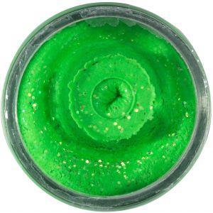 Berkley PowerBait Natural Glitter Trout Bait vitlök spring green 50 g
