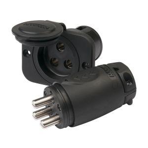 Marinco 70A 3-stifts elkontakt/snabbkoppling av kablar till elmotor hona & hane