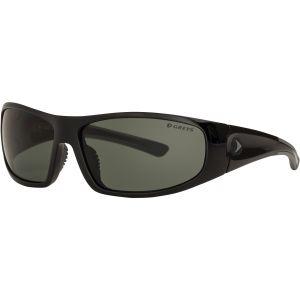 Greys G1 Polaroid solglasögon blanksvart/grå