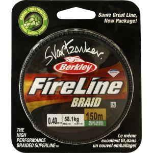Berkley FireLine Svartzonker Braid flätlina
