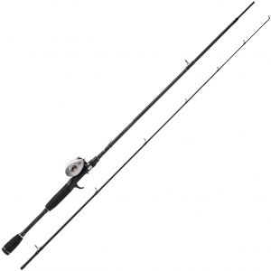 """Abu Garcia Silver Max Low Profile Combo spinnset 6'6"""" 15-45 g"""