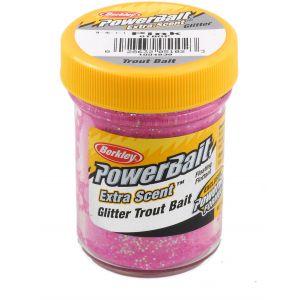 Berkley PowerBait Glitter Trout Bait pink 50 g