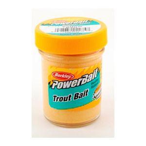 Berkley PowerBait Trout Bait yellow 50 g