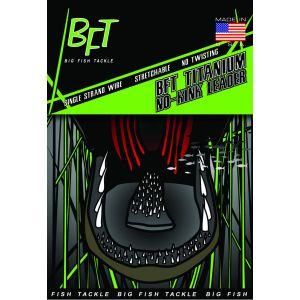 BFT Titanium No-Kink tafsmaterial svart