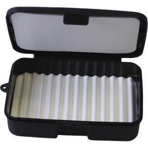 Wiggler flugask [14.5 x 9.4 x 3.6 cm] svart