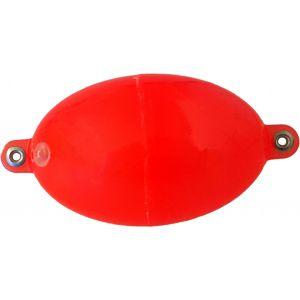 Buldo Oval kastflöte med metallringar röd 1-pack