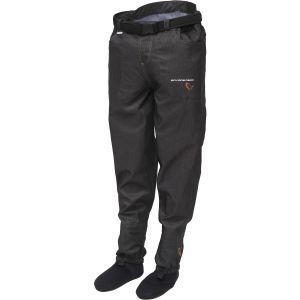 Savage Gear #Savage midjevadare med neoprenfot jeansblå