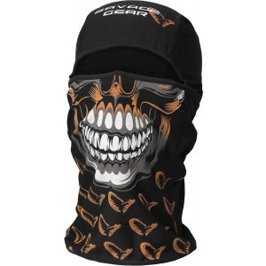 Savage Gear Skull balaclava svart one-size
