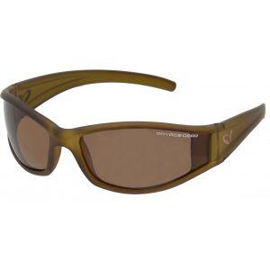 Savage Gear Slim Shades polariserade solglasögon amber