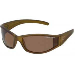 Savage Gear Slim Shades polariserade solglasögon mörkgrå