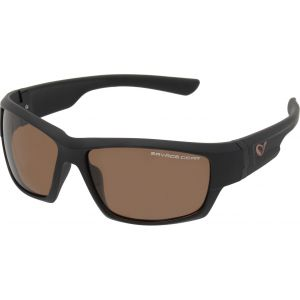 Savage Gear Shades polariserade solglasögon mörkgrå