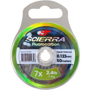 Scierra Fluorocarbon tafsmaterial clear