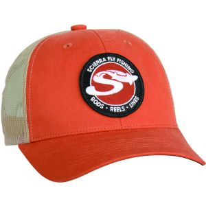 Scierra S Mesh Trucker keps orange one-size