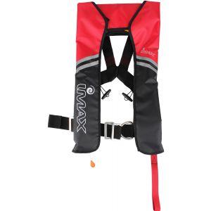 Imax Automatic räddningsväst röd/svart