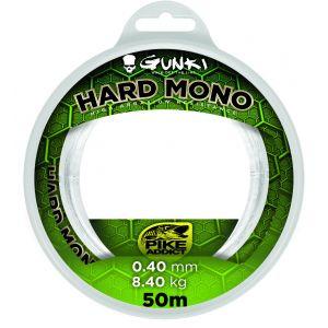 Gunki Hard Mono tafsmaterial clear