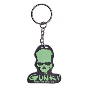 Gunki Skull nyckelring grön