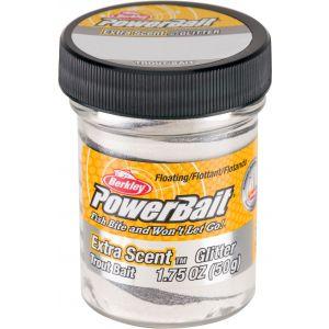 Berkley PowerBait Glitter Trout Bait silver vein 50 g