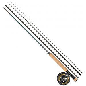 """Daiwa D Trout flugfiskeset 8'6"""" med 5/6 rulle och #5 flytlina"""