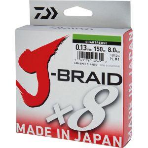 Daiwa J-Braid Grand X8 flätlina gul