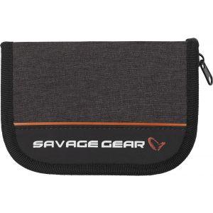 Savage Gear Zipper Wallet 2 betesväska [17 x 11 cm] svart 1-pack