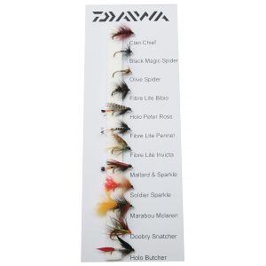 Daiwa Modern Traditional flugor 11-pack