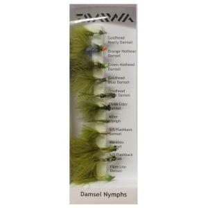 Daiwa Damsels flugor 11-pack
