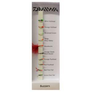 Daiwa Buzzers flugor 10-pack